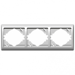 Rama tripla orizontala - Aparataj electric efekt