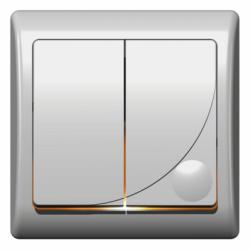 Comutator iluminat - Aparataj electric efekt