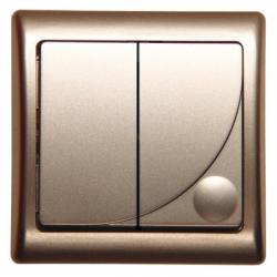Comutator satin - Aparataj electric efekt