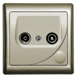Priza  RTV satin - Aparataj electric efekt