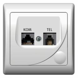 Priza telefon-computer - Aparataj electric efekt