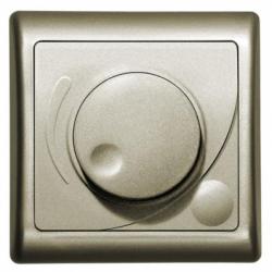 Variator de lumina rotativ satin - Aparataj electric efekt