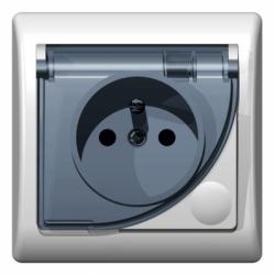 Priza IP-44 sistem francez - Aparataj electric efekt