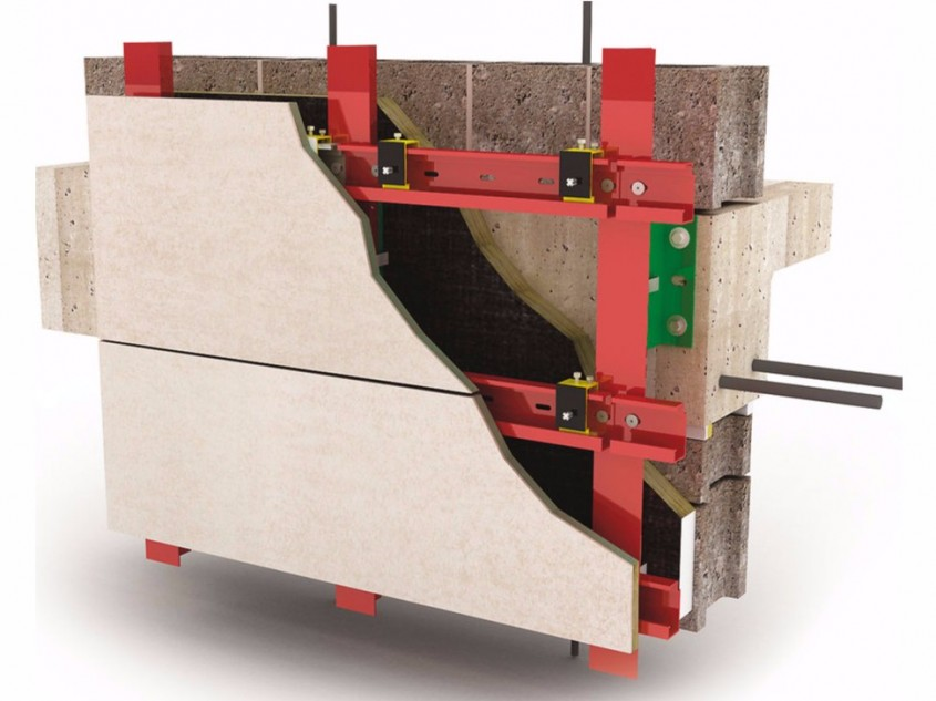 Panouri compozite cu piatra naturala pentru fatade ventilate si placari exterioare - Panouri compozite cu piatra