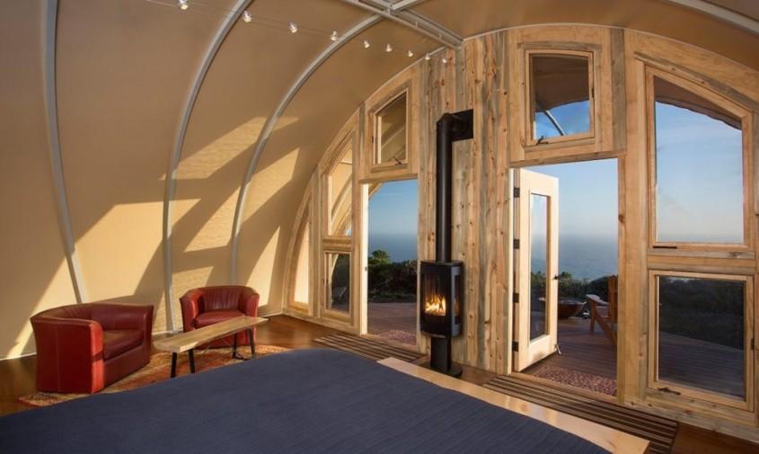 Autonomous Tent - Un cort modern, autonom, cu interioare confortabile