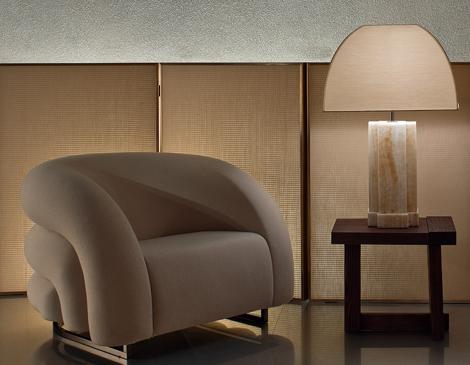 Fotoliu marca Giorgio Armani Casa - Ce inseamna luxul?