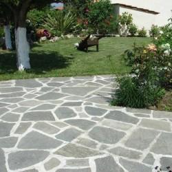 Ardezie poligonala Kavala - Lespezi XXL - Piatra naturala decorativa kavala ardezie