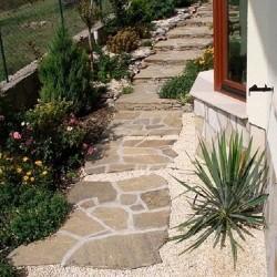 Ardezie poligonala Homa - Lespezi (1 mp = 3-5 buc) - Piatra naturala decorativa kavala ardezie
