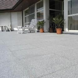Granit Rock Star Grey Fiamat 60 x 30 x 2.5 cm - Piatra naturala decorativa kavala ardezie