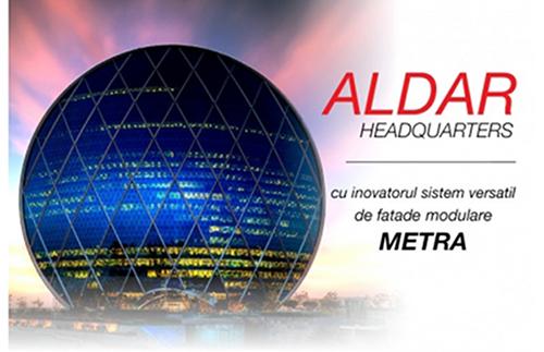 Aldar Headquarters cu inovatorul sistem modular de fatada METRA - Aldar Headquarters cu inovatorul sistem modular