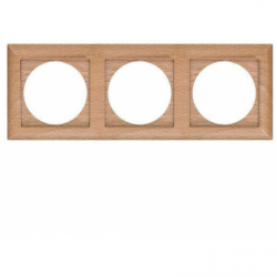 Rama lemn fag 3 posturi - Aparataj electric perla