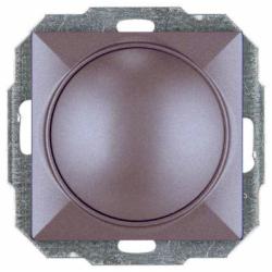 Variator rotativ 400 W antracit fara rama - Aparataj electric perla