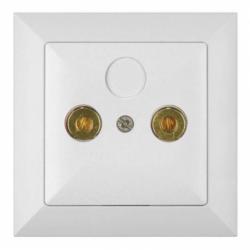 ALB Priza pt difuzoare - Aparataj electric perla