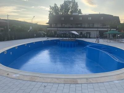 Piscina impermeabilizata cu poliuree - Hidroizolatii piscine cu poliuree