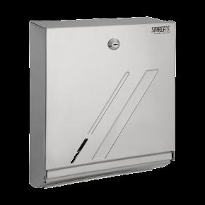 Dispenser de prosoape de hartie din otel inox - SLZN 03 - Dispensere de hartie igienica, de prosoape de hartie si pungi sanitare din otel inox