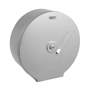 Dispenser de hartie igienica din otel inox pentru sul mare - SLZN 01 - Dispensere de hartie igienica, de prosoape de hartie si pungi sanitare din otel inox
