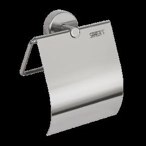 Suport hartie igienica din otel inox - SLZN 09 - Dispensere de hartie igienica, de prosoape de hartie si pungi sanitare din otel inox