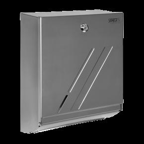 Dispenser de prosoape de hartie din otel inox - SLZN 20 - Dispensere de hartie igienica, de prosoape de hartie si pungi sanitare din otel inox