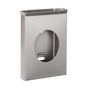 Dispenser de pungi sanitare din otel inox - SLZN 53 - Dispensere de hartie igienica, de prosoape de hartie si pungi sanitare din otel inox