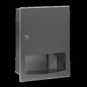 Dispenser de prosoape de hartie din otel inox - SLZN 56Z - Dispensere de hartie igienica, de prosoape de hartie si pungi sanitare din otel inox