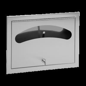 Dispenser de colace de hartie din otel inox - SLZN 66Z - Dispensere de hartie igienica, de prosoape de hartie si pungi sanitare din otel inox