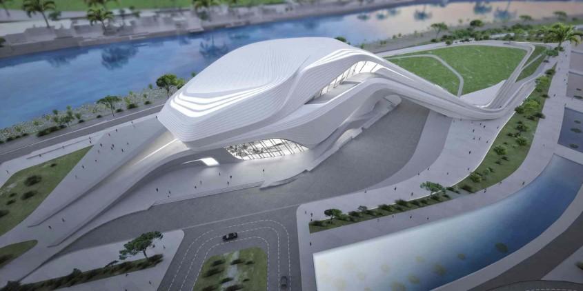 Rabat Grand Theater - Produsele Sika, folosite in proiecte arhitecturale capodopera la nivel international