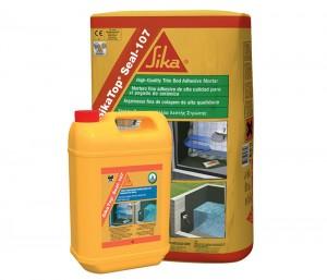 Mortar semi-elastic pentru impermeabilizare si protectie - Consolidari, reparatii betoane