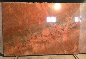 Granit lustruit - Juparana Sunset Red - Granit - MARMUR-ART