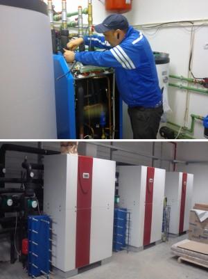 Montaj pompe de caldura Apa-Apa - marca Dimplex - Tipuri de montaj a unei pompe de caldura - Ciupirom
