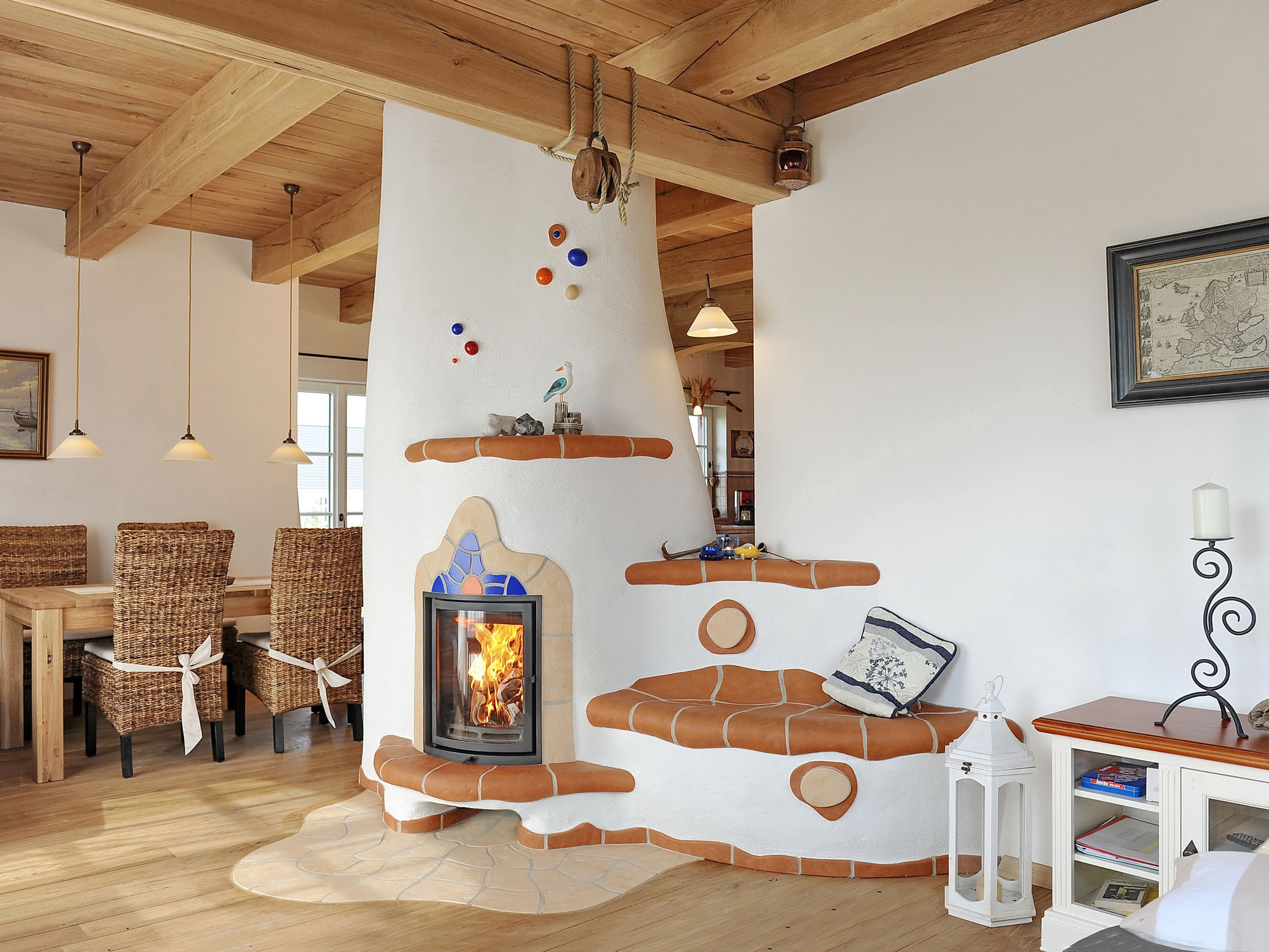 дизайн русской печи в доме фото его словам