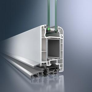Profil din PVC pentru usa Schüco Corona CT 70 - Profil din PVC pentru usa Schüco Corona CT 70