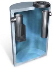 Separator de grasimi din beton armat LIPUMAX - Separator de grasimi din polietilena LIPUMAX