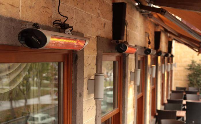 Panouri radiante pentru terase, restaurante si gradini - Panouri radiante pentru terase, restaurante si gradini