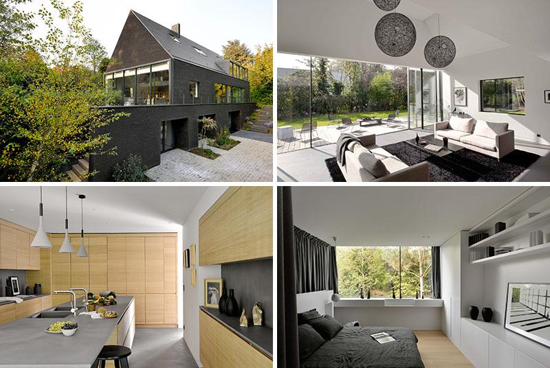 O casa din caramida neagra renovata pentru viata noua - O casa din caramida neagra renovata