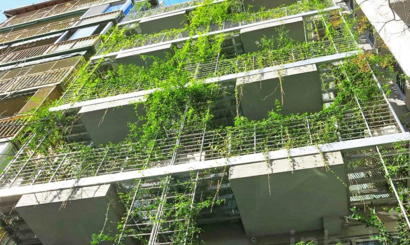 Hotelul Palo Santo - Un hotel invaluit in peste 800 de varietati de plante