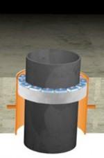 "Etansari modulare Link-Seal ®, model ""T"" - Mansoane etanseizare"