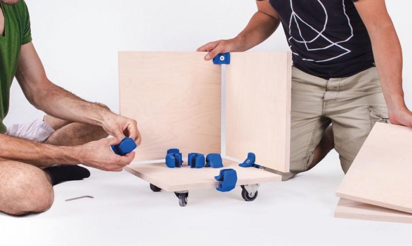 Mobilier modulabil ce se poate recompune in mai multe modele - Mobilier modulabil ce se poate