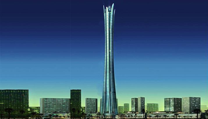 Burj Al Alam - Top 10 al celor mai înalți zgârie-nori neterminați