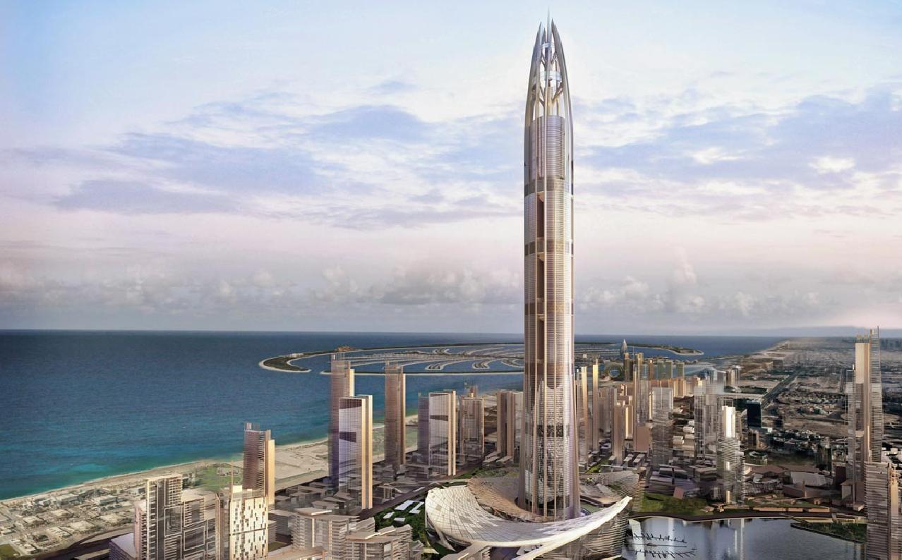 Turnul Nakheel - Top 10 al celor mai înalți zgârie-nori neterminați