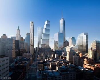 2 World  Trade Center - Top 10 al celor mai înalți zgârie-nori neterminați