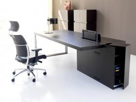 Mobilier pentru birouri Wenge - Colectia LOOP - Mobilier pentru birouri - Colectia LOOP