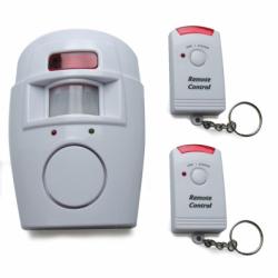 ASTRELL Alarma pasiva cu infrarosu, cu 2 telecomenzi - Alarme electrice