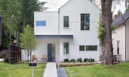 Casa Game On - Intervenție modernă la o construcție veche din Aspen
