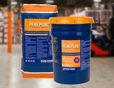 Peneplug - Material de hidroizolare cu intarire rapida pentru beton, zidarie, ceramica, piatra - Hidroizolatii si impermeabilizare pentru structuri din beton