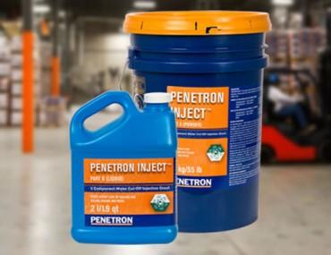 Penetron Inject - Sistem de reparatie si etansare a fisurilor din beton - Hidroizolatii si impermeabilizare pentru structuri din beton