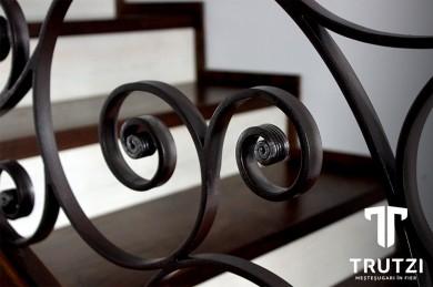 Ornament balustrada fier forjat  - Prezentare lucrari TRUTZI FIER FORJAT