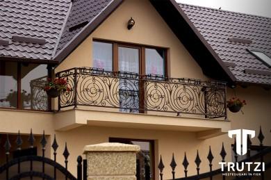 Balcon fier forjat -Trutzi - Prezentare lucrari TRUTZI FIER FORJAT