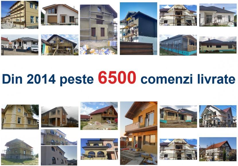 DIN 2014 PESTE 6500 COMENZI LIVRATE - MEGA IZOLATII