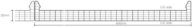 Sisteme modulare drepte din policarbonat celular - Sisteme modulare drepte din policarbonat celular