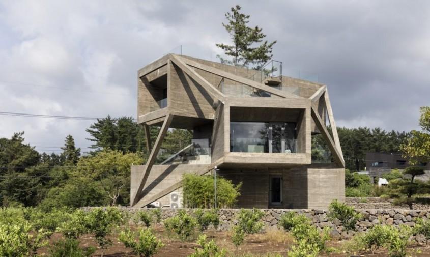Casa gandita sa capteze soarele si sa priveasca spre natura - Casa gândită să capteze soarele
